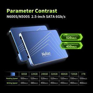 DISQUE DUR SSD Netac N500S SSD Disque dur interne 480 Go TLC Disq