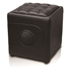 STATION D'ACCUEIL POUF MUSICAL BLUETOOTH MODELE SOFA SOUND BLACK