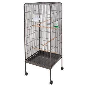 VOLIÈRE - CAGE OISEAU POILS & PLUMES OISEAU Cage à oiseau ORIGAMI en mét