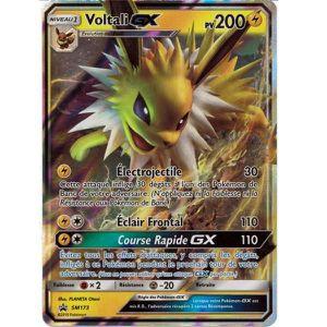 CARTE A COLLECTIONNER Carte unitaire Pokémon Voltali-GX N°SM173 Français