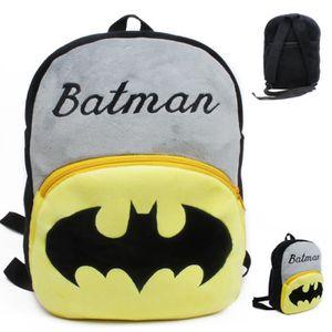 CARTABLE Batman Cartoon enfants jouets en peluche sac à dos