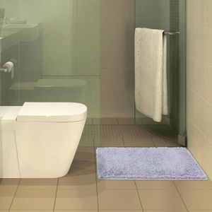 TAPIS DE BAIN  50 * 80cm Tapis salle de bain toilette en peluche