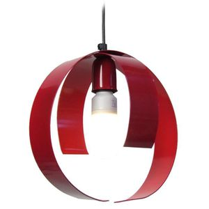 LUSTRE ET SUSPENSION TOOL,  10748; rouge  _ Luminaire, Suspension