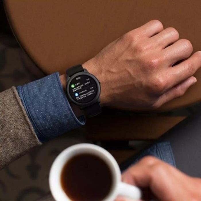 Montre connectée,Usine d'origine Xiaomi Haylou solaire montre intelligente Sport mode Bracelet - Type Global Version Black