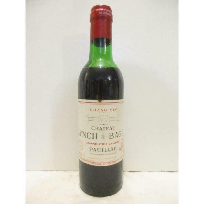 37,5 cl pauillac château lynch bages grand cru classé rouge 1978 - bordeaux