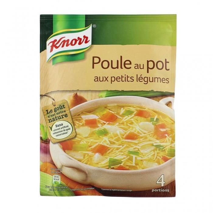 Knorr Poule au Pot aux Petits Légumes 72g (lot de 6)