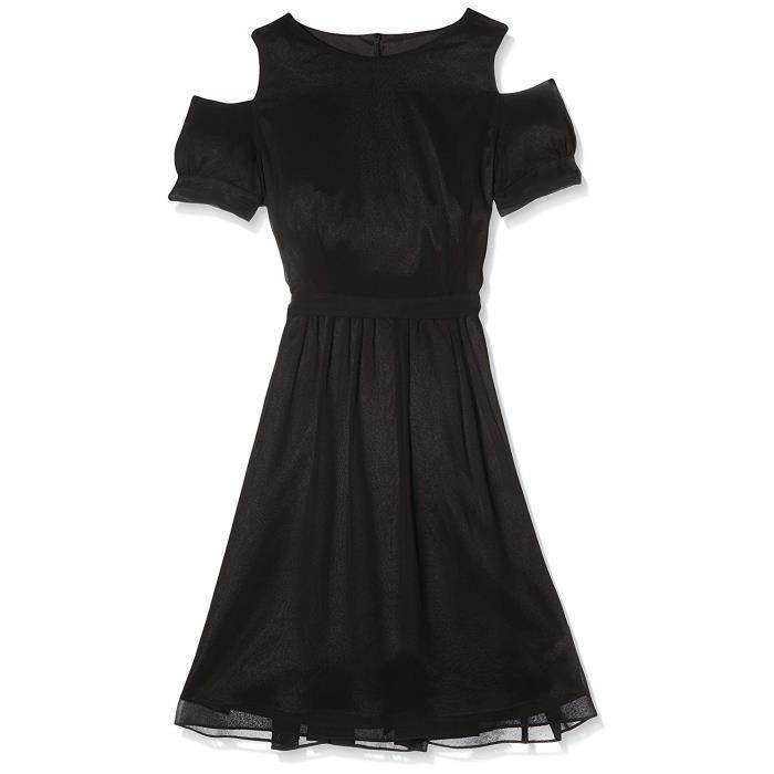Swing Greta, Robe Femme, Noir (Black), 40 - 117-005085-81-100