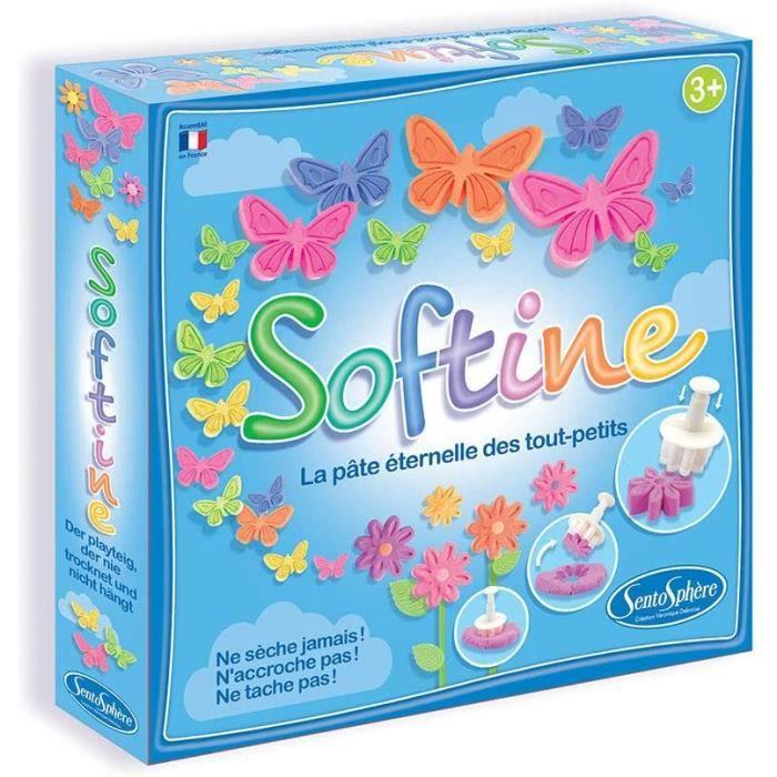 Loisirs Créatifs Sentosphère- SOFTINE dans Les prés, 8750, Bleu 598