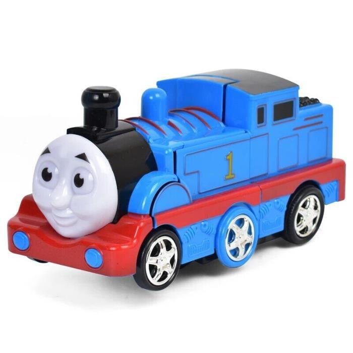 Jouet éducatif pour enfants, pour voiture, avec déformation électrique, petit train, musique, Thomas et ses amis