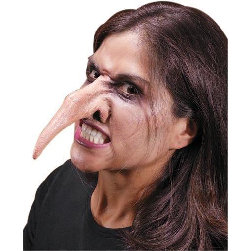 Le long nez de sorcière