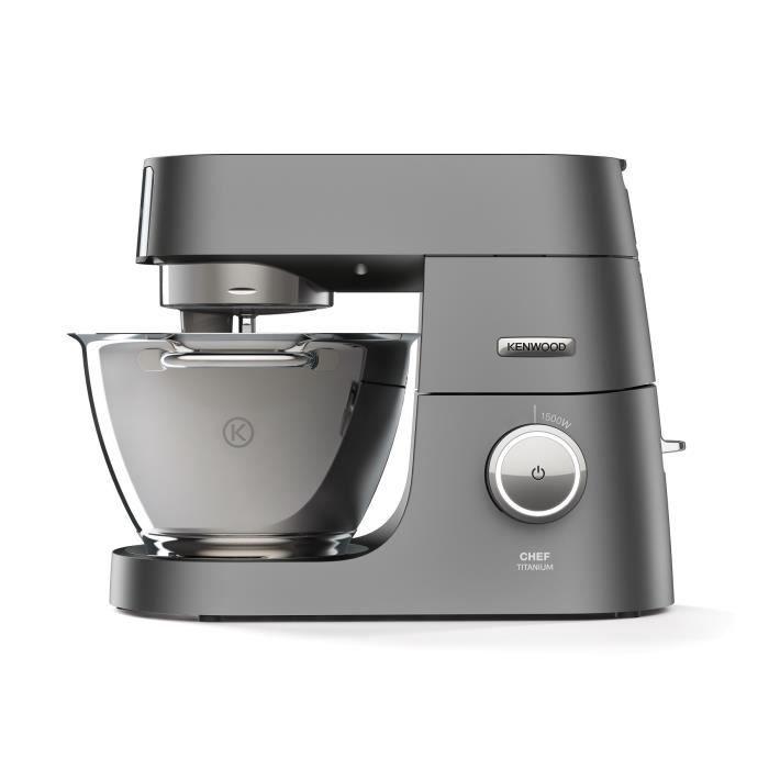 KENWOOD KVC7320S Robot pâtissier Chef Titanium - Gris