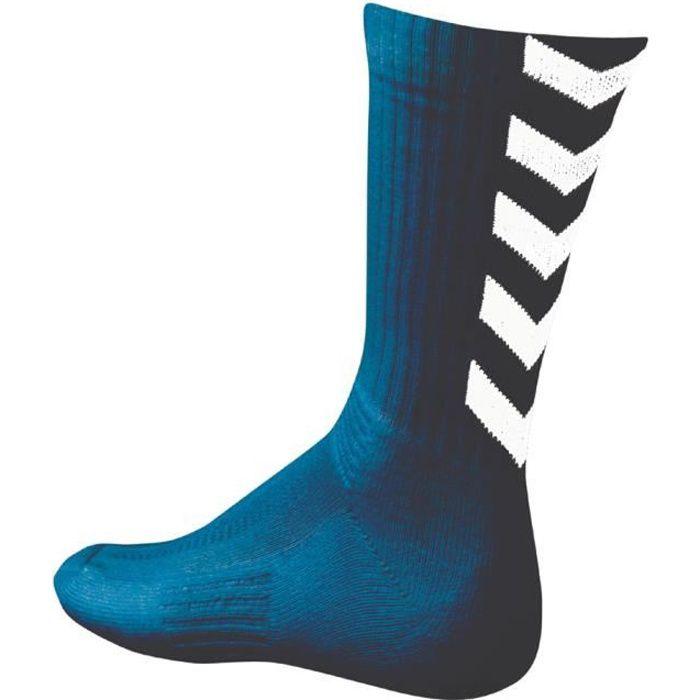HUMMEL Chaussettes de Handball Authentic Indoor - Homme - Bleu Marine et Blanc