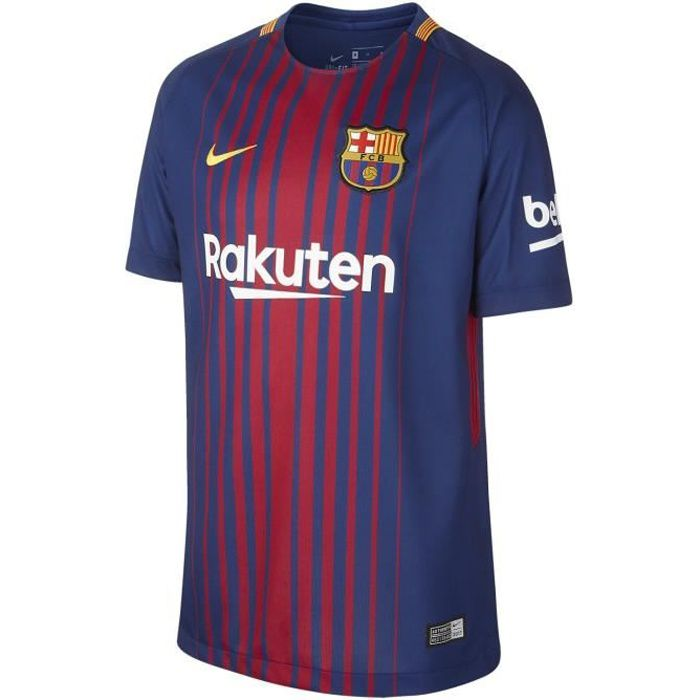 NIKE Maillot de Football FC Barcelone Domicile 2017 - Homme - Bleu