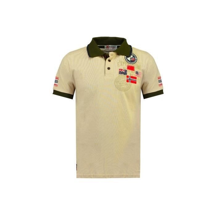 Polo Homme Geographical Norway Kundredal Beige