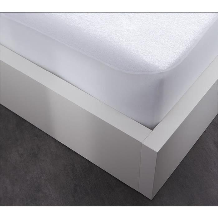 Linge de lit - Protège matelas-Alèse - Imperméable été-hiver - 140 x 190 cm