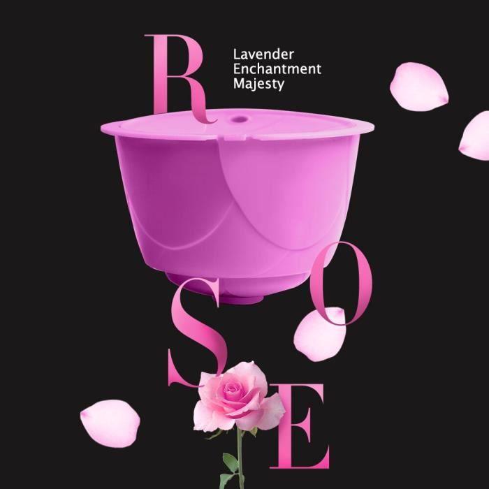 1 Purple Capsule -Capsules de café réutilisables pour Dolce Gusto,Style Rose