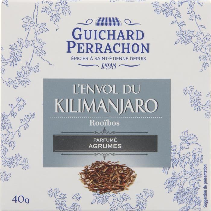 GUICHARD PERRACHON Thé rooibos agrumes - 20 sachets - 40 g