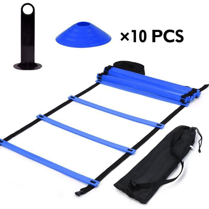 19 pieds Echelle de Coordination Agilite Ladder pour la vitesse Football Sports Football Fitness Pieds formation HB040 -SHO