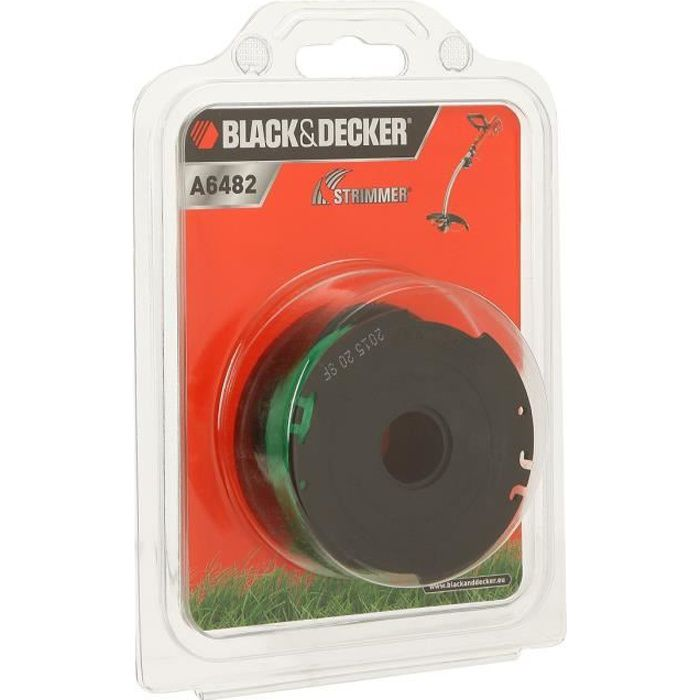 Decker A6481 Bobine reflex 10 m Black