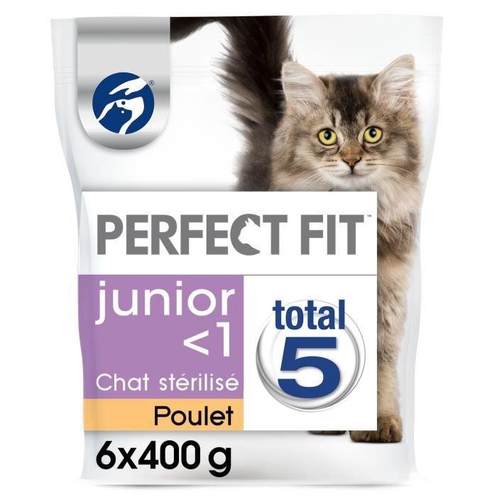 CROQUETTES Perfect Fit Junior - Croquettes pourJeune Chat Sté