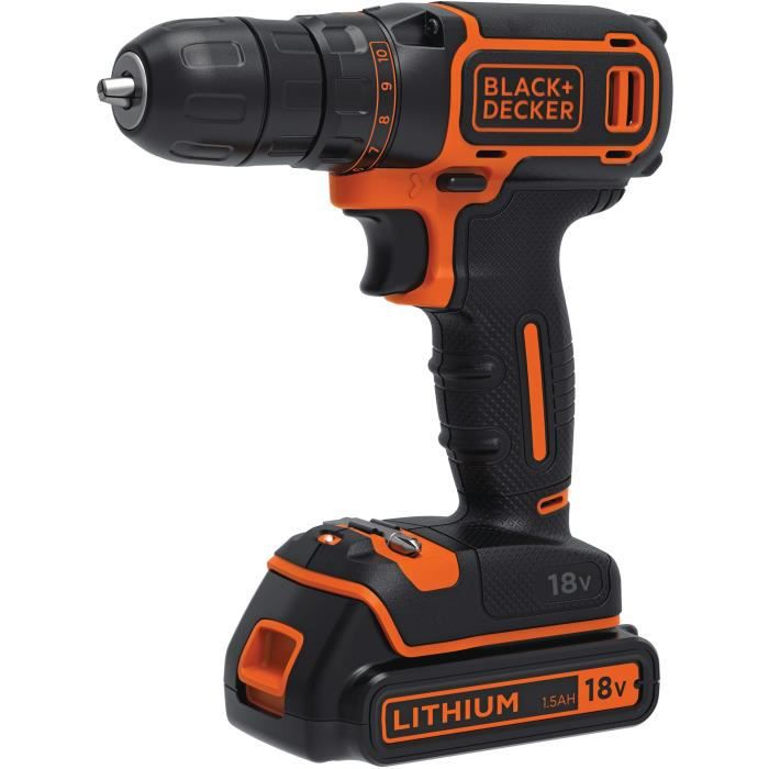 Perceuse 18v black et decker