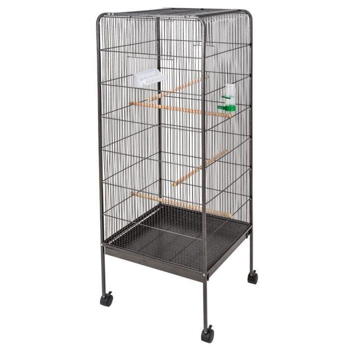 Poils Plumes Oiseau Cage à Oiseau Origami En Métal Hauteur 146 Cm