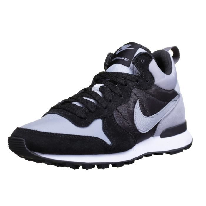 brand new 8a947 75a5d BASKET Chaussure Nike Internationalist Mid 682844 Noir