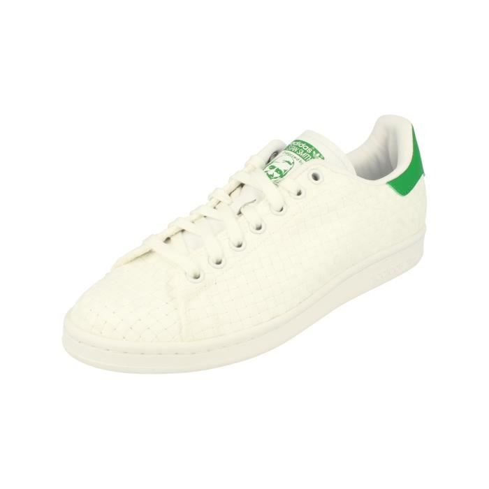 premium selection eb5a5 128b0 BASKET Adidas Originals Stan Smith Hommes Trainers Sneake