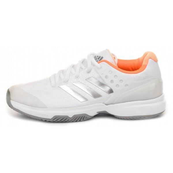 check out 51f96 75f9b Chaussures ADIDAS Femme adizero Ubersonic 2.0 Clay Terre Battue Blanc PE  2017 (37 13)