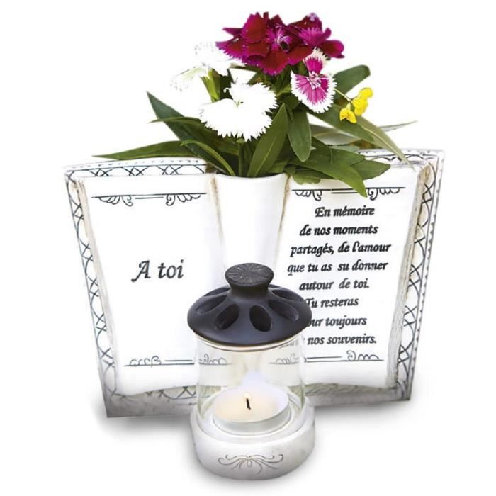 plaque funeraire achat vente plaque funeraire pas cher cdiscount. Black Bedroom Furniture Sets. Home Design Ideas