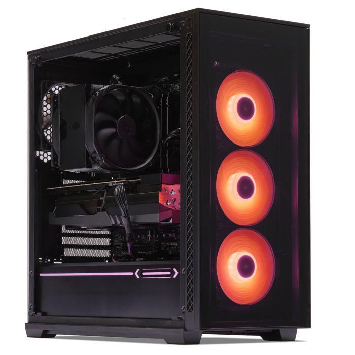 UNITÉ CENTRALE  PC Gamer, AMD Ryzen 7, RTX 2070, 500Go SSD NVMe M.