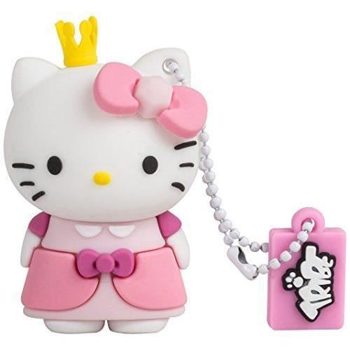 tribe fd004410 hello kitty pendrive figurine 8 go. Black Bedroom Furniture Sets. Home Design Ideas