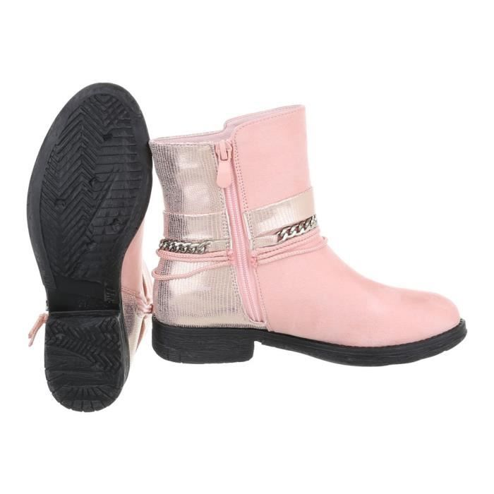 e0599910f84e50 Bottes Femme Bottine Chaussures Rose 41 YPXWwx for providence ...