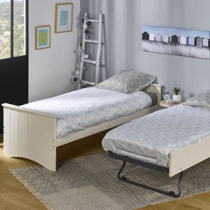 lit gigogne bois massif achat vente lit gigogne bois. Black Bedroom Furniture Sets. Home Design Ideas