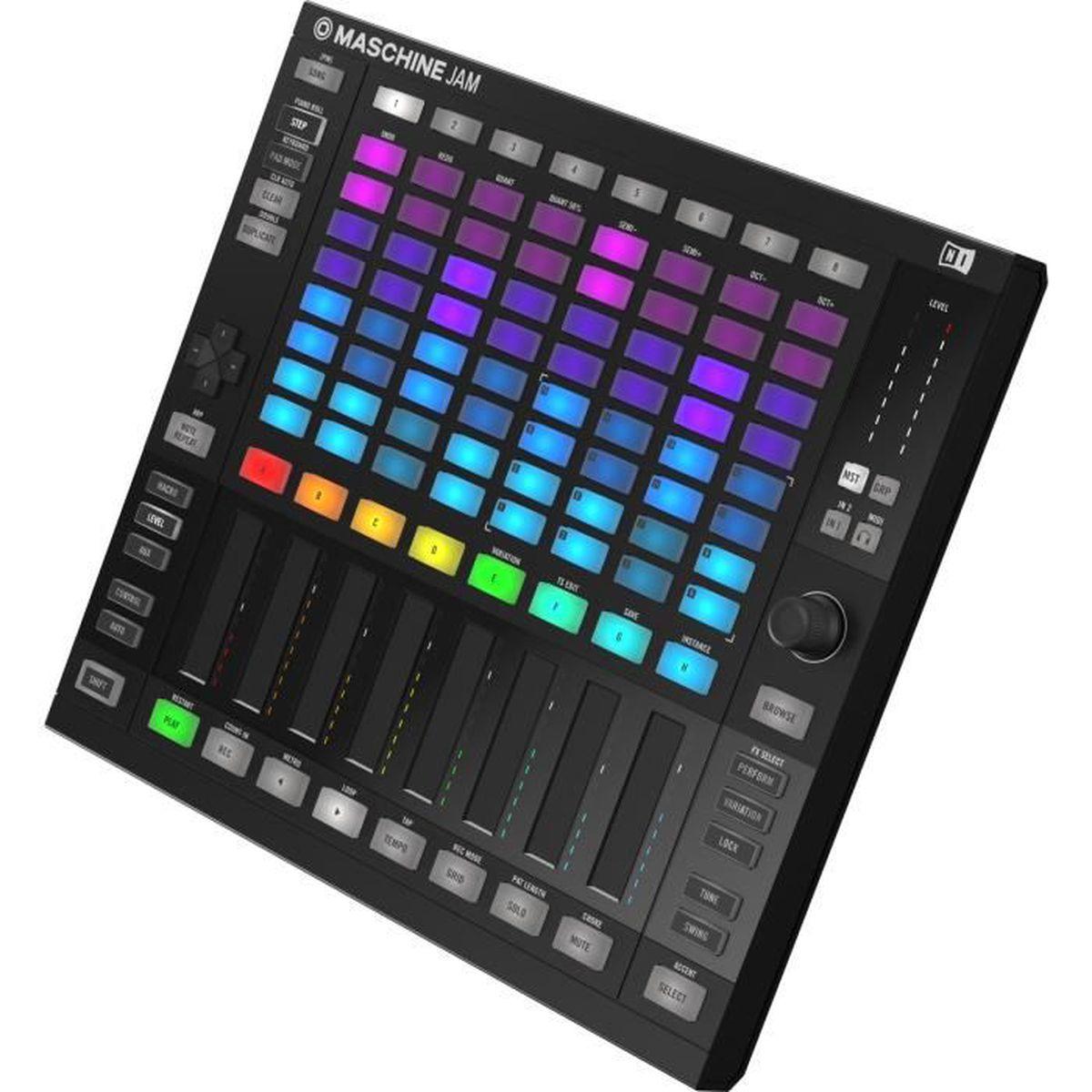 INTERFACE AUDIO - MIDI Native Instruments - MASCHINE JAM