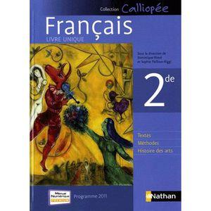 Livre Lycee Seconde Francais 2nde Achat Vente Livres