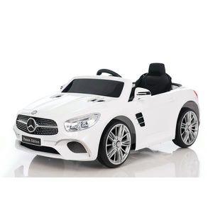 VOITURE ELECTRIQUE ENFANT Mercedes SL400 batterie 12v MP4 - Couleur:Blanc