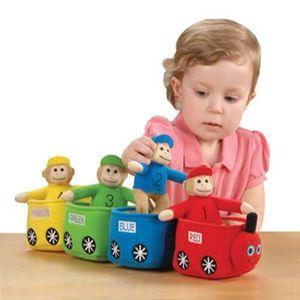 POUPON Jouets CP bilingue Velour Play & Learn pour les en