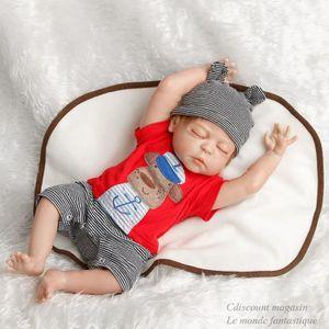 POUPÉE 55cm bébé Reborn poupée Silicone  enfants jouets G