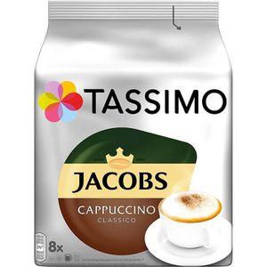 CAFÉ CD-413capsules Tassimo Jacobs Cappuccino Classico,
