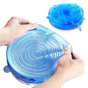 COUVERCLE Couvercles en silicone pour cuvettes tasses couver
