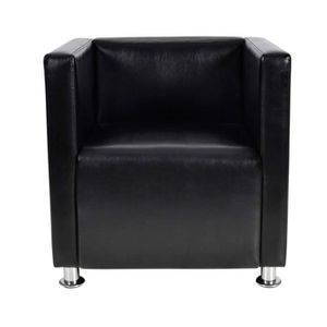 FAUTEUIL Magnifique Fauteuil Design Club en noir