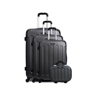 SET DE VALISES BLUESTAR Set de 4 valises MADRID-C - Vanity rigide