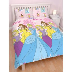 housse de couette disney princesses achat vente housse de couette disney princesses pas cher. Black Bedroom Furniture Sets. Home Design Ideas