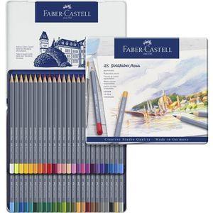 CRAYON DE COULEUR FABER-CASTELL Boîte de 48 Crayons de couleur Goldf