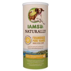 FRIANDISE IAMS Naturally Friandises pour chiens 100 % viande