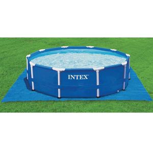 BÂCHE - COUVERTURE  INTEX Tapis de sol carré 472 x 472 cm