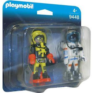 UNIVERS MINIATURE PLAYMOBIL 9448 - Space - Astronautes - Nouveauté 2