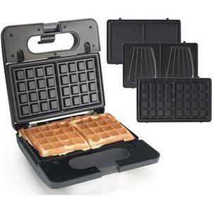 CROQUE MONSIEUR Senya Appareil Croque monsieur, gaufrettes Waffle