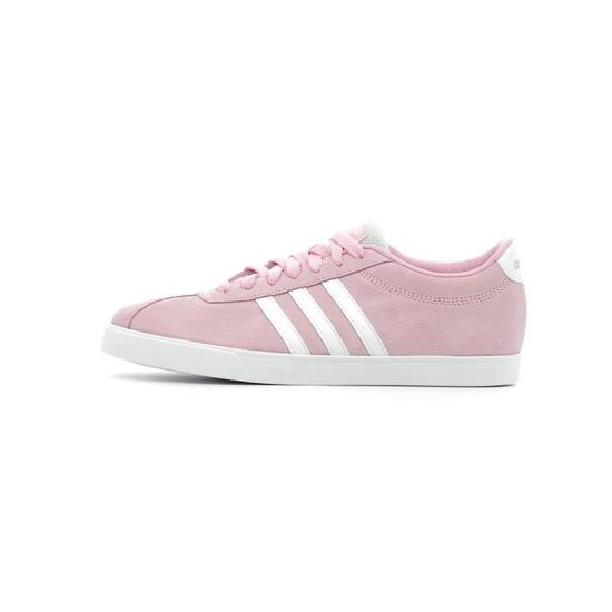 Baskets basses Adidas Courtset W Rose Rose - Achat / Vente basket
